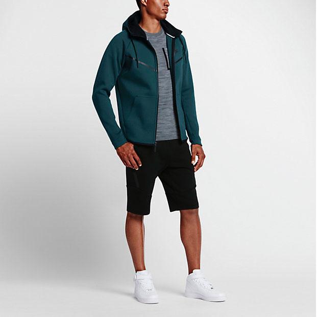 0f427c684409 ... Turquoise nike air max torch 6 - Nike Sportswear Tech Fleece Windrunner  Hoodies Fall 2016 Colors . ...