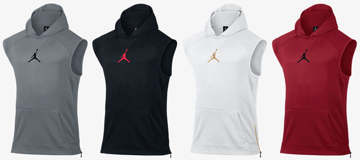 Jordan 360 Fleece Sleeveless Hoodies | SportFits.com