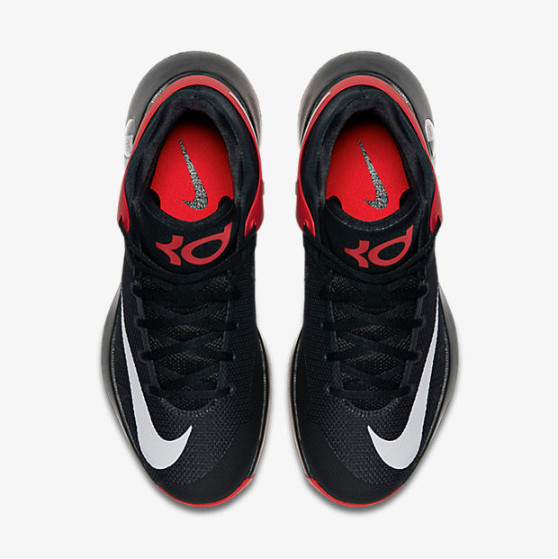 Nike KD Trey 5 IV Red Black Grey | SportFits.com