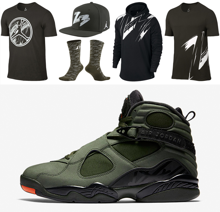 Clothing to Match the Air Jordan 8 Take Flight | SportFits.com