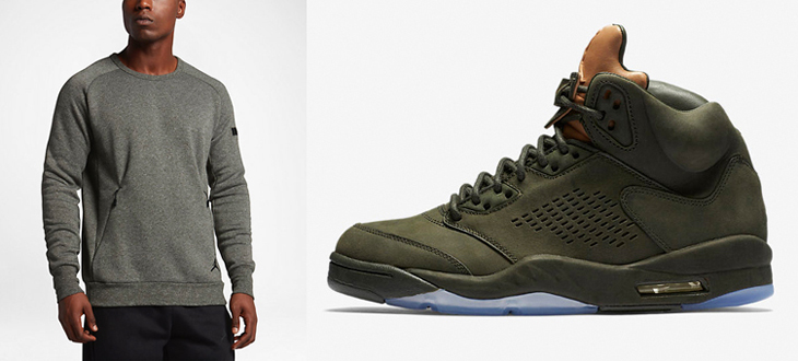 Clothing to Match Air Jordan 5 Take Flight | SportFits.com