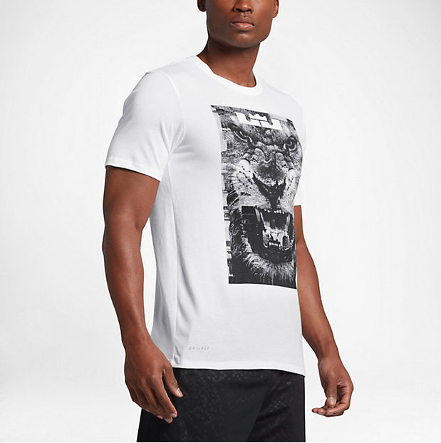 Nike lebron 14 lion t shirt for Lebron shirts for sale