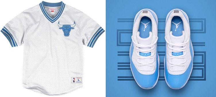 Clothing to Match Air Jordan 11 Low UNC   SportFits.com