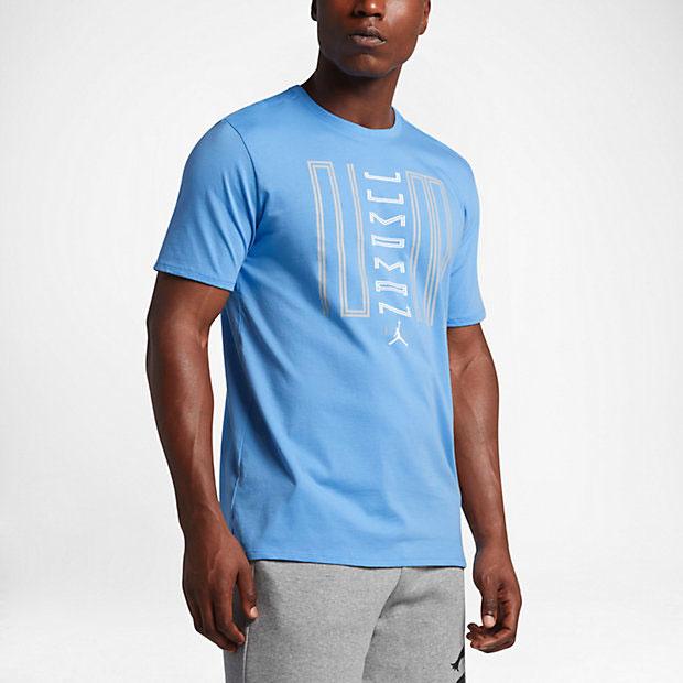 Air jordan 11 low unc university blue shirt for We are jordan unc shirt