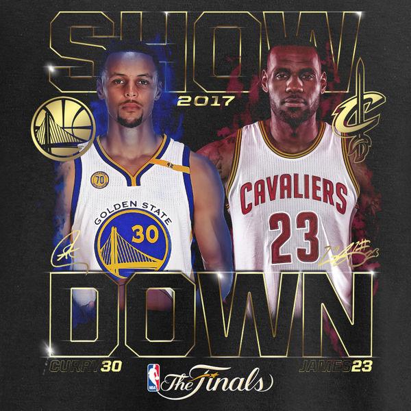 2017 NBA Finals Trilogy Shirts