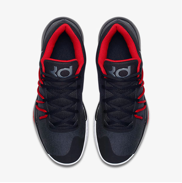 Nike KD Trey 5 V Black Red Chrome | SportFits.com
