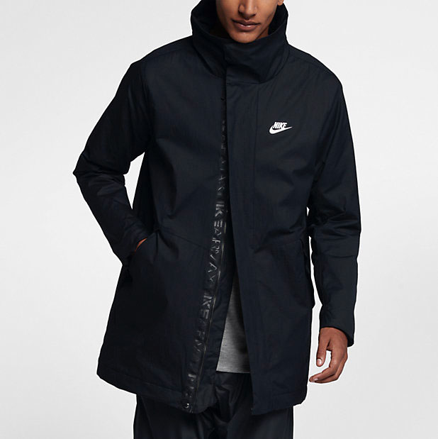 nike sportswear air max woven jacket. Black Bedroom Furniture Sets. Home Design Ideas